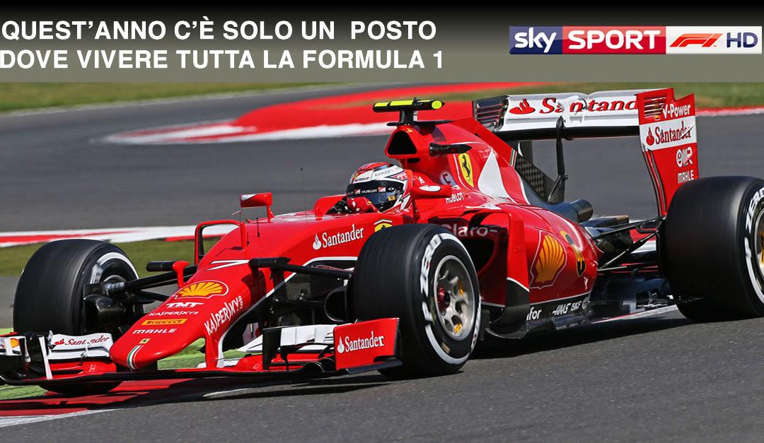 Offerta Sky Formula Uno 2018